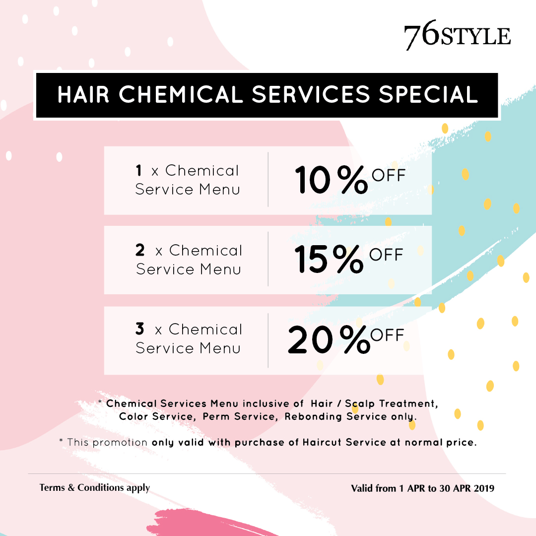 Hair Chemical Services Special